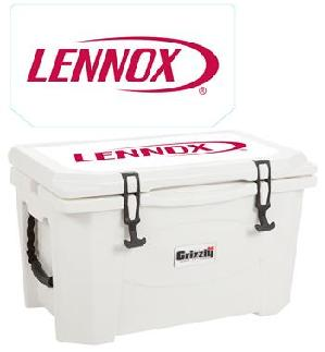 Donors are automatically entered to win this 40 Gallon Grizzly Cooler!